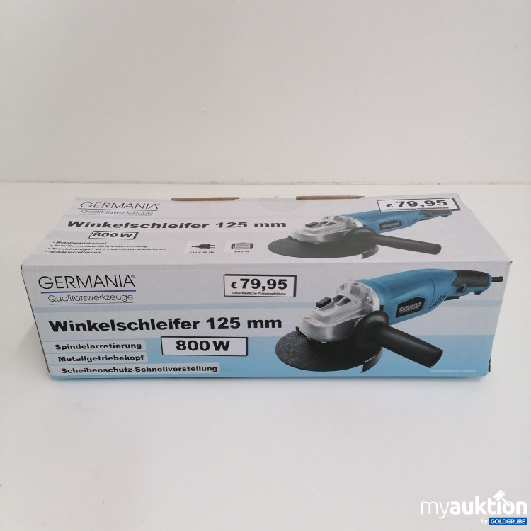 Artikel Nr. 144396: Germania Winkelschleifer 125mm