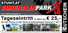 Auktion Tageseintritt in den Stunt.at Adrenalinpark