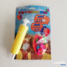 Artikel Nr. 8651: 2 in 1 Ballon Pumpe