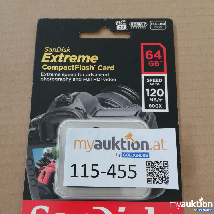 Artikel Nr. 115455: Extreme compact Flash Card