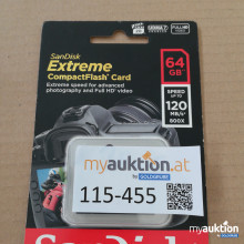 Auktion Extreme compact Flash Card