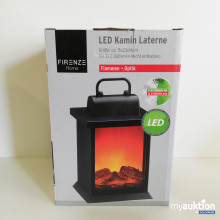 Auktion LED Kamin Laterne