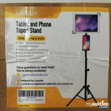 Auktion Luxtude Tablet and Phone Tripod Stand