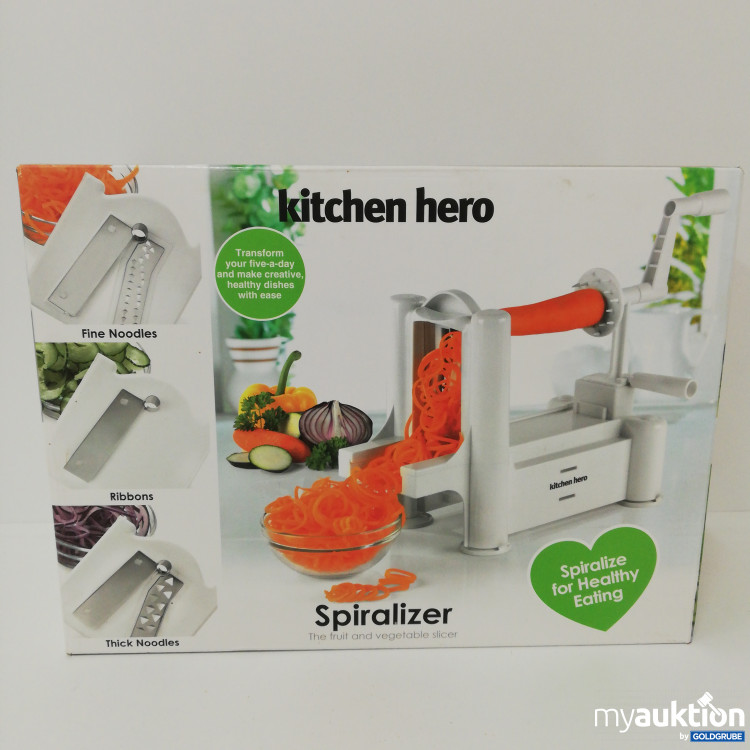 Artikel Nr. 104029: Spiralizer - kitchen hero