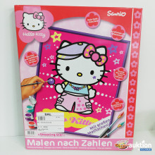 Auktion Hello Kitty Malen nach Zahlen