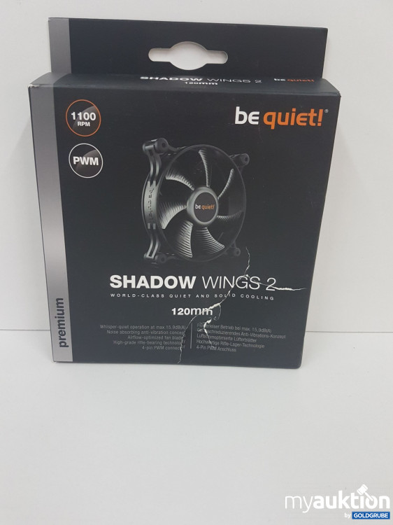 Artikel Nr. 141269: Bequiet Shadoe Wings 2 - 1100 RPM  PWM