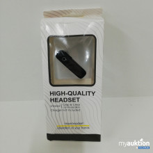 Auktion High-Quality Headset
