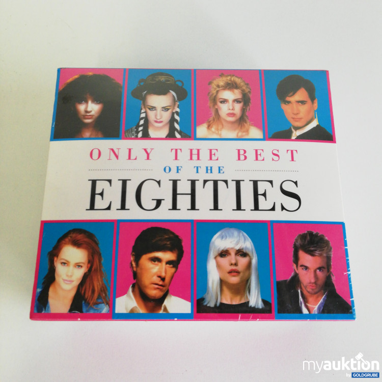 Artikel Nr. 8267: 5er Pack CDs - Only the best of the Eighties