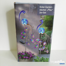 Auktion Solar Gartenstecker 2er Set