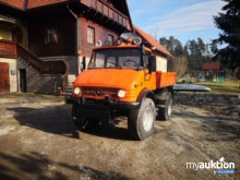 Auktion Unimog 406 - Mercedes Benz
