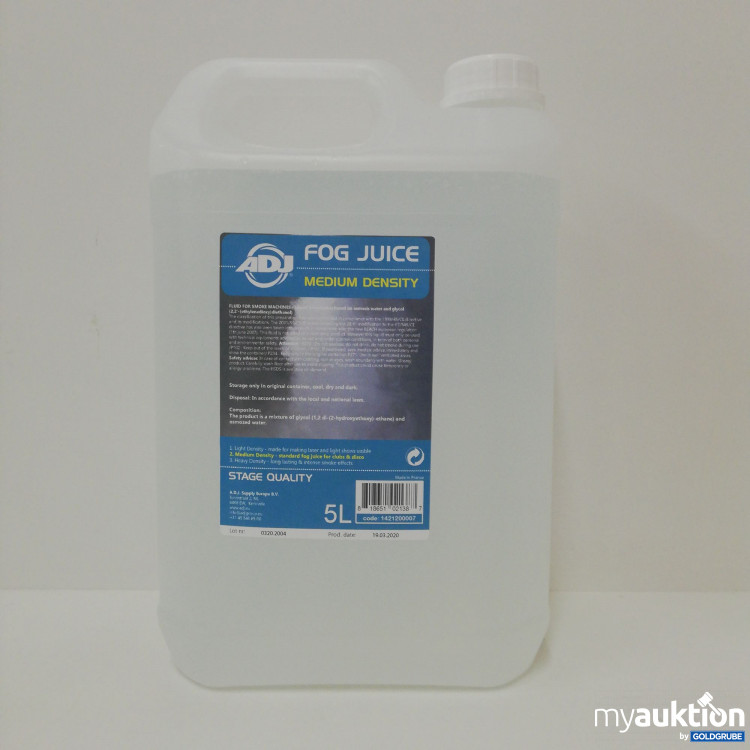 Artikel Nr. 132889: Fog Juice Medium Density