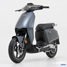 Auktion Super SOCO CUx Elektro Moped silber