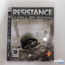 Auktion Playstation 3 Resistance Fall of Man 18+