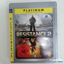Auktion Playstation 3 Resistance 2 18+