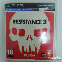 Auktion Playstation 3 Resistance 3, 18+