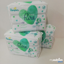 Auktion Pampers Aqua Pure Feuchttücher