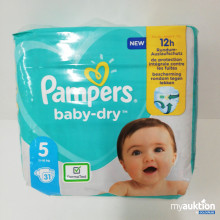 Auktion Pampers baby-dry 5