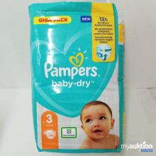 Auktion Pampers baby-dry 3