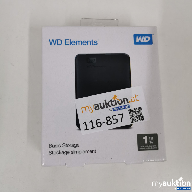 Artikel Nr. 116857: WD Elements 1TB