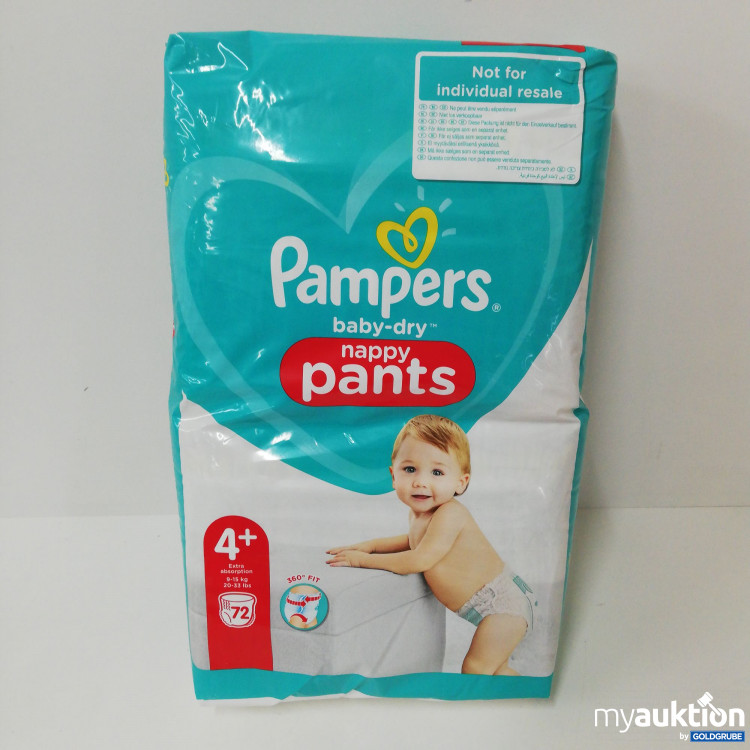 Artikel Nr. 142392: Pampers baby-dry Nappy Pants 4+