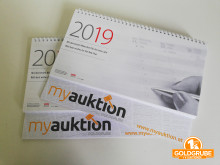 Auktion Stehkalender 2019 - myauktion