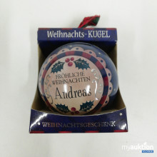 Auktion Weihnachtskugel Andreas